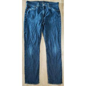 Lucky Brand Mens 121 Slim Blue Jeans Size 32 x 32